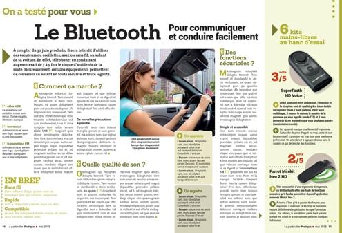 creation de test bluetooth